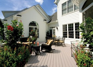 TimberTech Twin Finish Deck