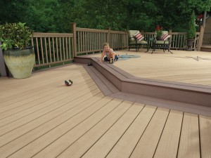 TwinFinish 2-Level Deck